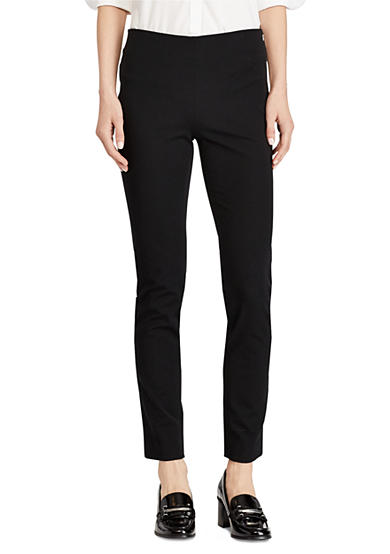 Lauren Ralph Lauren Stretch Cotton Skinny Pant