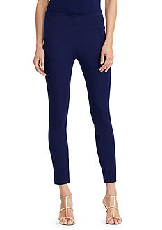 Lauren Ralph Lauren Stretch Cotton Skinny Pants