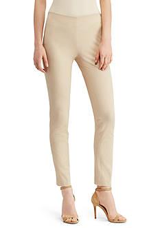 Lauren Ralph Lauren Stretch Twill Skinny Pant