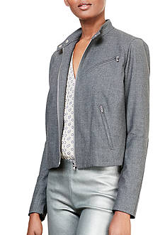 Lauren Ralph Lauren Wool Moto Jacket
