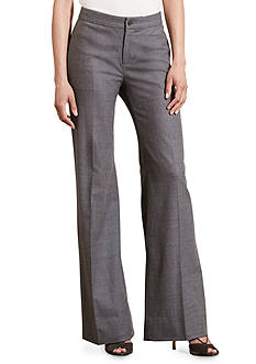 Lauren Ralph Lauren Stretch Wool Flared Pant