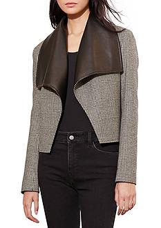 Lauren Ralph Lauren Glen Plaid Wool Jacket