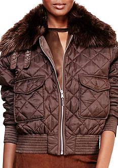Lauren Ralph Lauren Quilted Bomber Jacket