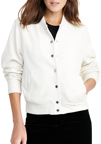 Lauren Ralph Lauren Cotton Bomber Jacket