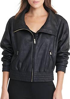 Lauren Ralph Lauren Coated Fleece Jacket