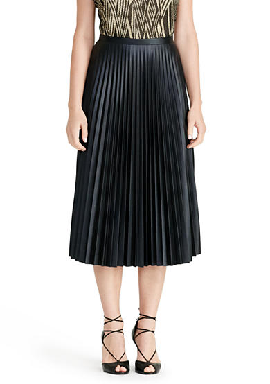 Lauren Ralph Lauren Pleated Midi Skirt