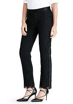 Lauren Ralph Lauren Lace Tuxedo Pant