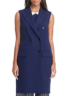 Lauren Ralph Lauren Wool Double-Breasted Vest