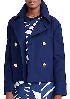 Lauren Ralph Lauren Cropped Cotton Jacket