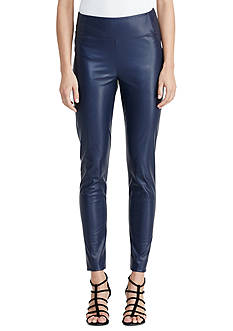 Lauren Ralph Lauren Faux-Leather Legging