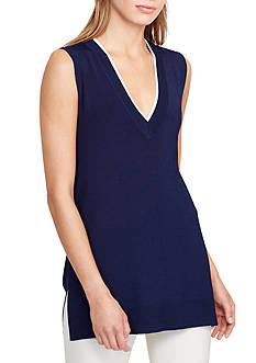 Lauren Ralph Lauren Sleeveless Sweater
