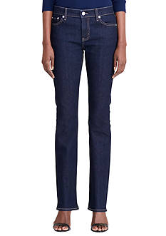 Lauren Jeans Co. Metallic Skinny Jean