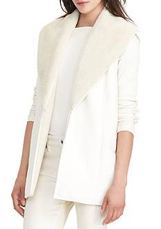 Lauren Ralph Lauren Shawl-Collar Vest