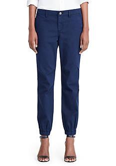 Lauren Ralph Lauren Cotton Twill Utility Pants