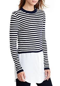 Lauren Ralph Lauren Layered Wool Sweater