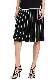 Lauren Ralph Lauren A-Line Sweater Skirt