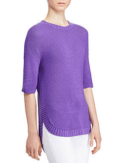 Lauren Ralph Lauren Short-Sleeve Sweater