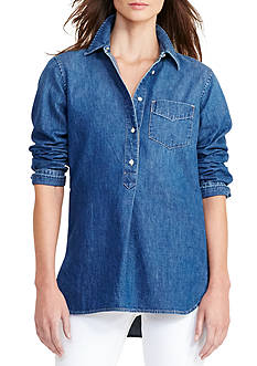 Lauren Ralph Lauren Denim Tunic