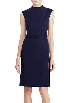 Lauren Ralph Lauren Mockneck Sheath Dress
