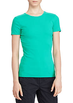 Lauren Ralph Lauren Stretch Cotton Tee