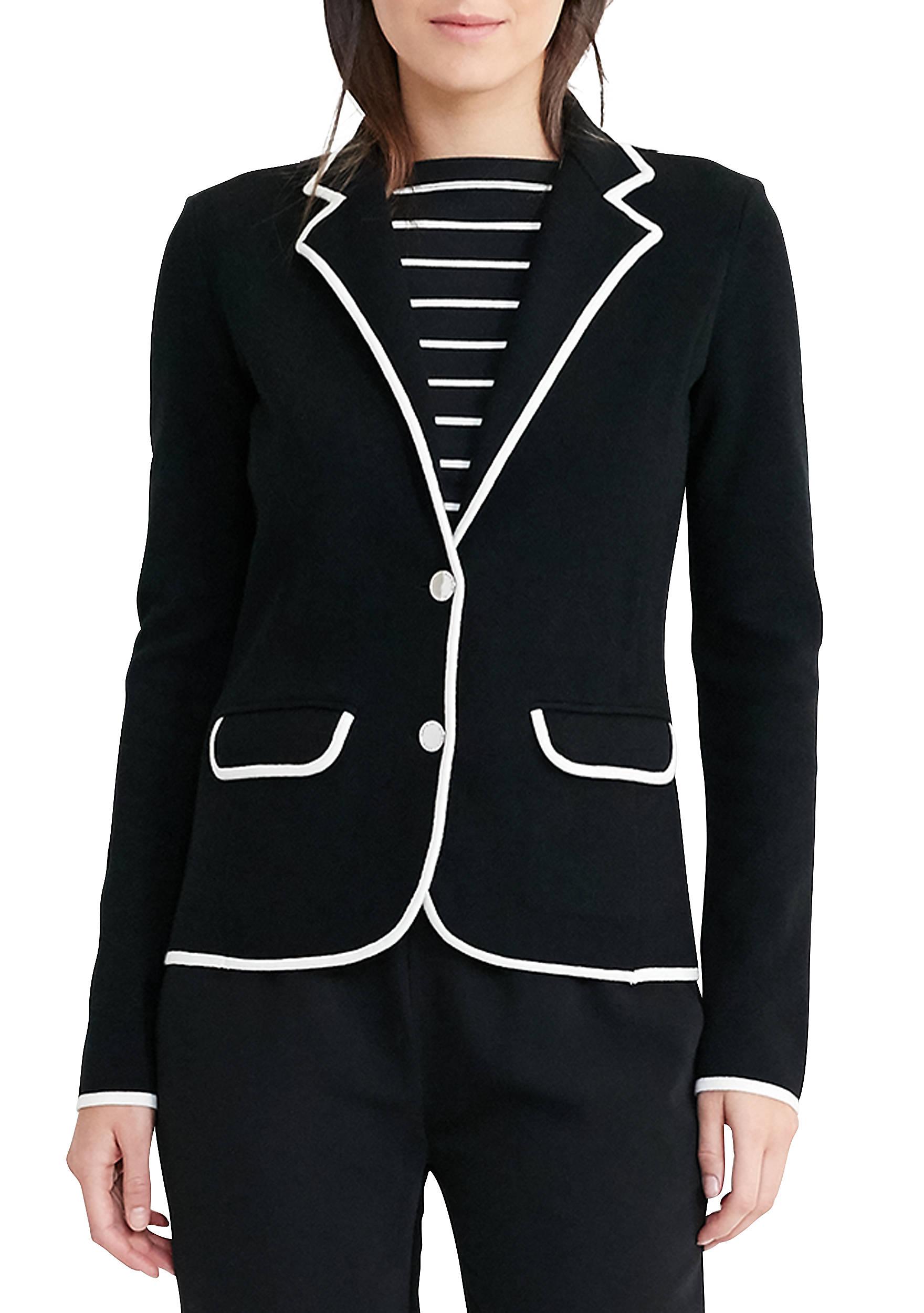 Lauren Ralph Lauren Stretch Cotton Sweater Blazer | belk