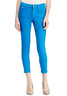 Lauren Ralph Lauren Premier Cropped Skinny Jean