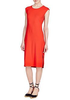 Lauren Ralph Lauren Midi Jersey Dress