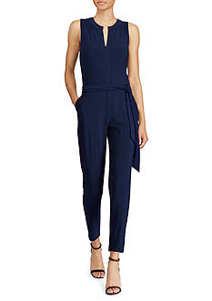 Lauren Ralph Lauren Stretch Jersey Jumpsuit