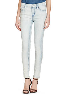 Lauren Ralph Lauren Premier Skinny Cropped Jeans