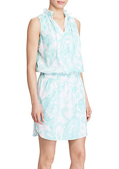 Lauren Ralph Lauren Paisley-Print Sleeveless Dress
