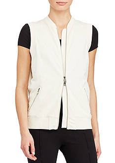Lauren Ralph Lauren Full-Zip Stretch Vest