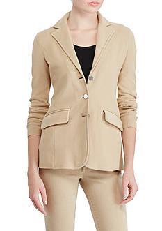 Lauren Ralph Lauren Three-Button Sweater Jacket
