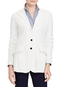 Lauren Ralph Lauren 3-Button Sweater Jacket