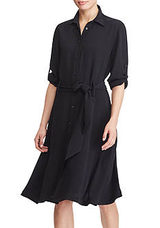 Lauren Ralph Lauren Fit-and-Flare Shirtdress