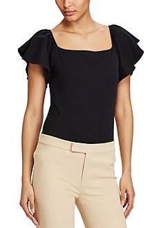 Lauren Ralph Lauren Jersey Off-the-Shoulder Top