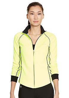 Lauren Ralph Lauren Petite Mock Neckline Active Jacket