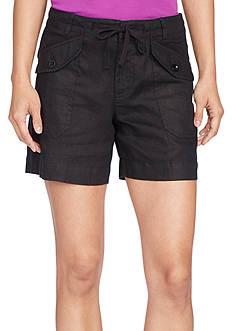 Lauren Ralph Lauren Petite Size Linen Patarpa Short