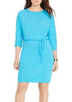 Lauren Ralph Lauren Petite Size Long Sleeve Dress