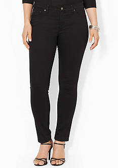Lauren Ralph Lauren Plus Size Super Stretch Slimming Modern Skinny Jean
