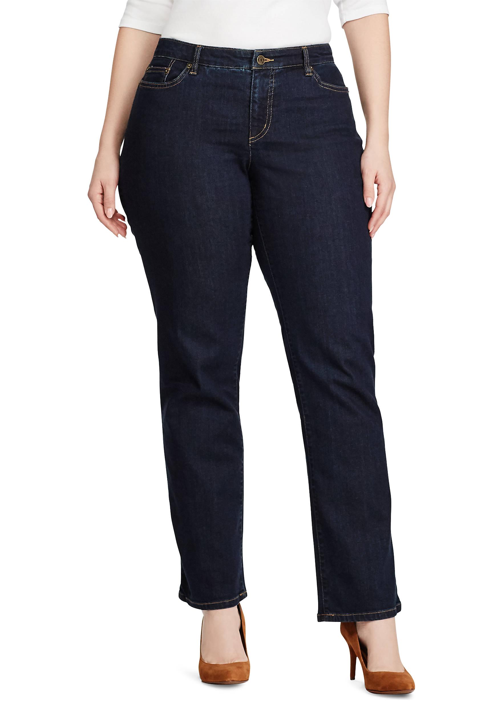 Lauren Ralph Lauren Plus Size Super Stretch Slimming Modern Curvy ...