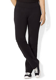Lauren Ralph Lauren Plus Size Jersey Active Pants