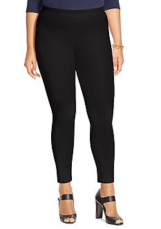 Lauren Ralph Lauren Plus Size Stretch Cropped Skinny Pant