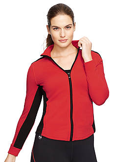 Lauren Ralph Lauren Plus Size Colorblocked Cotton Jacket