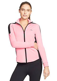 Lauren Ralph Lauren Plus Size Cotton Full-Zip Jacket