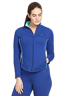 Lauren Ralph Lauren Plus Size Stretch Active Jacket