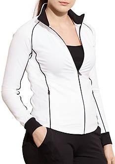 Lauren Ralph Lauren Plus Size Active Jersey Aeneas Jacket