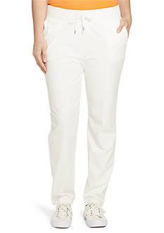 Lauren Ralph Lauren Plus Size Drawstring Straight Pant