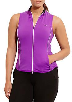 Lauren Ralph Lauren Plus Size Jersey Full-Zip Vest