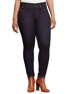 Lauren Ralph Lauren Plus Size Premier Stretch Skinny Jean