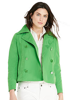 Lauren Ralph Lauren Plus Size Double-Breasted Jacket
